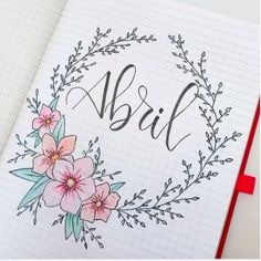 19 Bullet Journal Monthly Cover Page and Theme Ideas Amazing Bullet Journal Monthly Cover Page Theme Ideas for Every Month! Bullet Journal School, Bullet Journal Inspo, Bullet Journal For Beginners, Bullet Journal Cover Page, Bullet Journal 2019, Bullet Journal Layout, Journal Pages, Bellet Journal, Bibel Journal