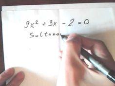 Как быстро решить квадратное уравнение без дискриминанта. ЕГЭ по математике 2015. Решение уравнений на заказ. Сроки от 4 часов! Оценка заказа за 10 минут! professional Tutor