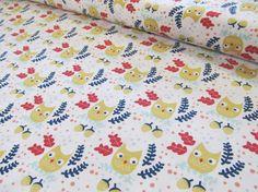 Hilltop  OwlsWhite  Dear Stella by SewStitchingHappy on Etsy