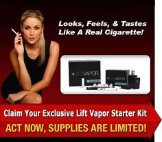 It is even better with Lift Vapor!