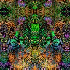 "vs-imagine: ""Art of #ShahyarVaseghi #Visionary Art #trippy #Psychedelic """