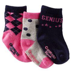 3-Pack Smarty Socks