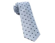 Ties - Surface Dots - Navy