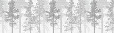 Weaving Wood Grey - Fotobehang & Behang - Photowall