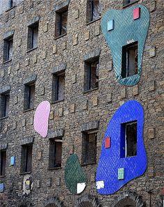 Hotel Truita, C/Uría, Cangas del Narcea. Década de los 60. Arq.:José Gómez del Collado | Flickr - Photo Sharing!