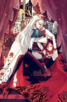 Find images and videos about anime, drawing and rwby on We Heart It - the app to get lost in what you love. Rwby Fanart, Rwby Anime, Rwby Comic, Red Like Roses, White Roses, Girls Manga, Rwby White Rose, Chica Gato Neko Anime, Rwby Weiss