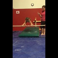 A little bit from practice yesterday ☺️ #3yrsold #littlegymnast #minigymnast #kbee #kbeeleos #practicemakesprogress #puttinginwork #bars #gymnastics #gymnast #backhandspring #SMGymnastofthemonth #backhipcircle #presshandstand #kbeeleotards #bhs #straddlepress #kickover #backbend #3yroldgymnast