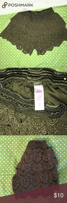 JUSTICE soft shorts. Size 7. JUSTICE soft shorts. Size 7. Great condition. Justice Bottoms Shorts