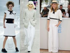 Chloe Moretz In Chanel � �Clouds Of Sils Maria� Cannes Film Festival Photocall