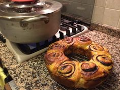 Pan brioche e cioccolato con forno kit Magic Cooker Bagel, Cooker, Muffin, Bread, Breakfast, Oven, Brioche, Food And Drinks, Morning Coffee
