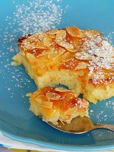 Pureed Food Recipes, Lemon Recipes, Sweets Recipes, Greek Recipes, Desert Recipes, Cake Recipes, Cooking Recipes, Greek Sweets, Greek Desserts