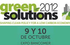 Green Solutions 2012    Listos para darse una vuelta 9 y 10 octubre
