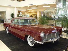1957 Lincoln Continental Maroon Mark II