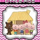 This is a set of pages created to go with the story The Three Little Pigs.