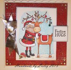 Christmas Bingo, Crafters Companion, Winter Wonderland, Advent Calendar, Hug, Folk, December, Santa, Stamp