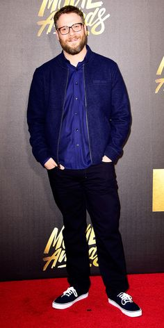 See All the Stars on the 2016 MTV Movie Awards Red Carpet - Seth Rogan from InStyle.com