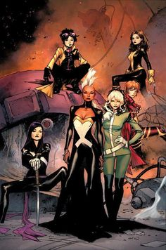 Can you imagine a movie starring this bunch? Halle Berry, Anna Paquin, Ellen Page, Olivia Munn, Lana Condor, and instead of Rachel, feature Sophie Turner as a time-displaced Jean Grey.