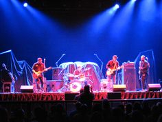 Tire Fire opening for ZZ Top