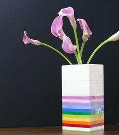 DIY: LEGO Vase- so fun!