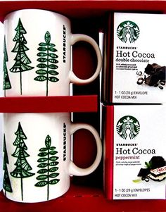 Starbucks Holiday Hot Cocoa and Mugs for Two Gift Set Starbucks http://www.amazon.com/dp/B0160UBYPS/ref=cm_sw_r_pi_dp_IfGDwb172KCV2