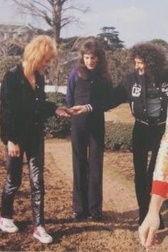 Roger Taylor, John Deacon and Brian May