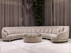 Most Beautiful Contemporary Curved Sofa Design Ideas - Live Enhanced Most Beaut. Most Beautiful Contemporary Curved Sofa Design Ideas – Live Enhanced Most Beautiful Contemporary Sofa Living, Living Room Sofa Design, Living Room Designs, Living Room Decor, Sofa Furniture, Luxury Furniture, Furniture Design, Modern Furniture, Furniture Storage