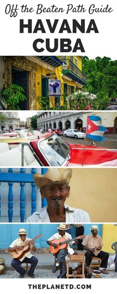 An offbeat guide to exploring Havana, Cuba. 11 of the best things to do in the city to experience Cuba's true culture. Travel in the Caribbean. | Blog by The Planet D: Canada's Adventure Travel Couple