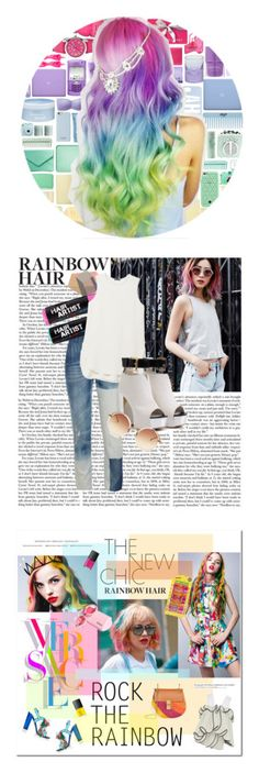 """""""Winners for Rainbow Hair"""" by polyvore ❤ liked on Polyvore featuring beauty, Incase, Victoria's Secret, Crayo, Nails Inc., Moser, Uniqlo, Aveda, Isaac Mizrahi and Thalgo"""