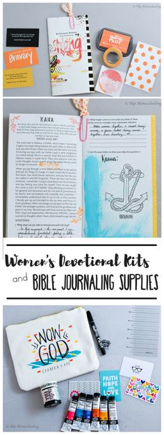 Womens Devotional and Bible Journaling Supplies: these will blow you away…