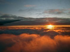 Above the clouds. Photo by Alex Mann