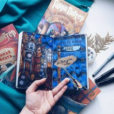 "275 Synes godt om, 1 kommentarer – wreck this journal (@wreckthisjournalwithlove) på Instagram: ""Harry potter #wreckthisjournal #wtj #journal #wrecking #kerismith"""