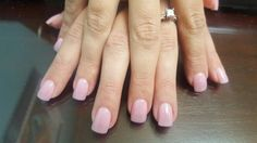 Thin acrylic overlay, call and receive  $10 off new clients.