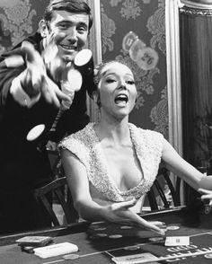 George Lazenby & Diana Rigg in On Her Majesty's Secret Service....http://tarkowski.tumblr.com/