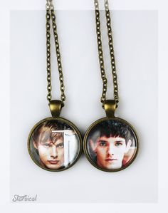 Choose from 15 images! Merlin BBC Pendant by Starsical on Etsy, i kind of really want one!