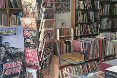 R and R Books- secondhand books, comics, magazines & ephemera, Nelson Street in Stroud & MyHigh
