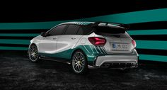 #Mercedes-AMG introduces limited-edition #A45 Champion Edition