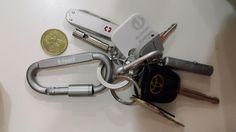 Amazon.com: D-FantiX Aluminum D-ring Locking Carabiner Keychain Hook Lock…