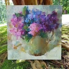 Image result for hydrangea paintings