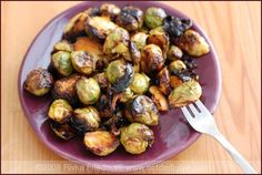 Sriracha roasted brussel sprouts