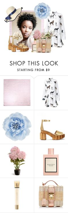 """""""Beauty Blooms"""" by thestylishintrovert on Polyvore featuring STELLA McCARTNEY, Monsoon, Tory Burch, National Tree Company, Gucci, Yves Saint Laurent and Mark Cross"""