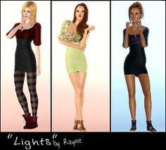 The Sims 3 Custom Content Best Sims, Sims 1, Sims 3 Cc Finds, Geek Stuff, Two Piece Skirt Set, Bodycon Dress, Female Clothing, Clothes For Women, Blogging