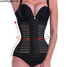 fbb42f5286f Tummy Wrap Corset Girdle body shaper belly belt girdles Waist Trainer