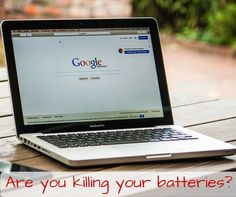Are you killing your batteries? #TechTipTuesday