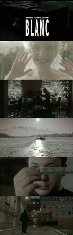 Three Colours: White (1994) Directed by Krzysztof Kieślowski. #FilmSchools