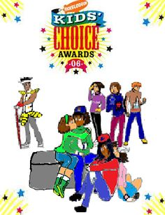 Nickelodeon Kids Choice Awards 2006 Logo part 3