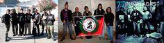 Kalazo Lumpenproletariat y 77 Puñaladas anarkopunk en Bolivia