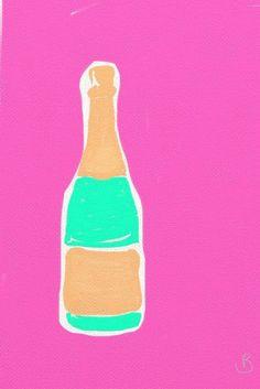 champagne, always.