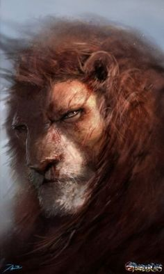Lion-O of the Thundercats. Artwork by Adnan Ali. Fantasy Character Design, Character Art, Animation Character, Character Sketches, Fantasy Creatures, Mythical Creatures, Fantasy Kunst, Fantasy Art, Character Illustration