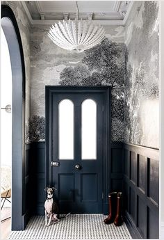 Home Interior, Interior Architecture, Interior And Exterior, Interior Decorating, Ideas Decoracion Salon, Hallway Ideas Entrance Narrow, Modern Hallway, Entryway, Home Luxury