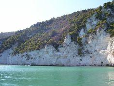 Foggia Gargano costa fra Mattinata e Vieste